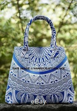 10pcs Wholesale Lot Indian Cotton Mandala Tote Carry Shoulder Bag Handbag Purse