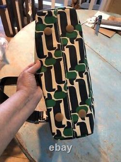 12b Orla Kiely midi crossbody sling bag, Dog Show design, New Rare
