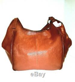 $428 Frye Leather Madison Shoulder Bag in Cognac Brown 34DB0490 NWOT