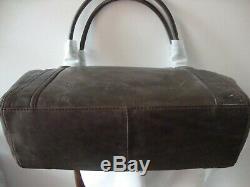 $458 NWT Frye Slate Leather Melissa Native Sun Stud Shoulder Tote Bag Purse