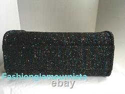 Auth BNIB Chanel Deauville Tote Black Sequin Shopper Bag 20A