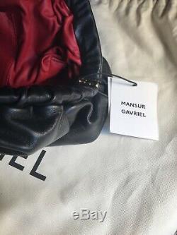 Authentic Mansur Gavriel Lambskin Cloud Clutch Bag