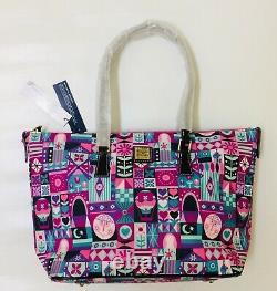 BNWT Disney Parks Dooney & Bourke It's a Small World Shopper Tote Purse