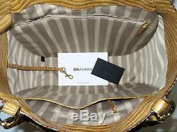 BRAHMIN Exotic Ltd Ed Retired TIETE BRONZE TURQUOISE MARIANNA & SURI WALLET NWT