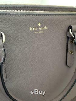 BRAND NEW KATE SPADE Mulberry Street Leighann Porcini Tote Bag WKRU3927