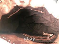 Bed Stu Barra Teak Driftwood Bone Glove Tote Purse A610045 TKDBNG