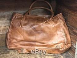 Bed Stu Rockaway Tan Rustic Large Purse A610047