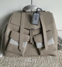 Bnwt All Saints Captain Lea Leather Bag £298.00