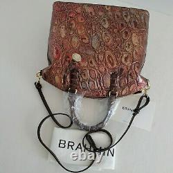 Brahmin Duxbury Dome Satchel Multi Crescendo Leather Bag Akita NWTHTF