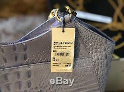 Brahmin Melbourne Marianna Periwinkle Handbag Purse Tote Shoulder P54 151 00213