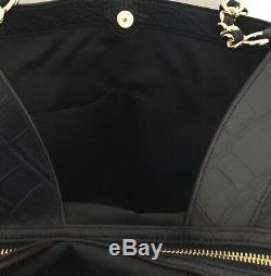 COACH F25944 Lexy Exotic Leather With Chain Strap Handbag IM/Black/Multi NWT