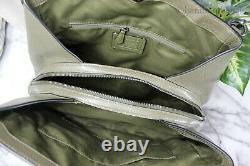Coach 80268 Hallie Kelp Pebbled Leather Shoulder Satchel Bag Hobo Handbag Purse
