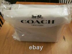 Coach Derby Tote, Light Saddle, New Factory Sealed, $298 Retail