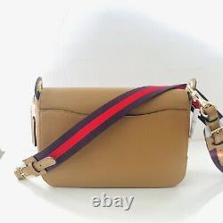Coach Jes Messenger Crossbody Bag Tan Brown Leather Purse NWT $350