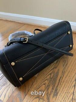 Coach Troupe Carryall Bag Satchel Tote Handbag Black Leather NWT Authentic