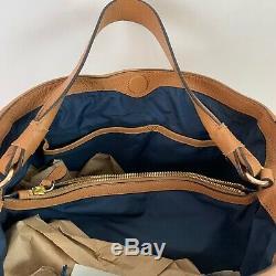 Cole Haan Leather Dillan Hobo Purse Handbag Tan Pecan NWT