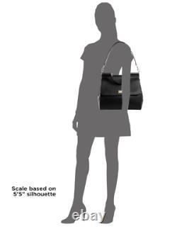 Dolce & Gabbana SICILY Large Dauphine Calf Leather Red Women's Handbag New