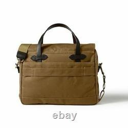 Filson 24 Hour Tin Briefcase 70140 Tan New Model