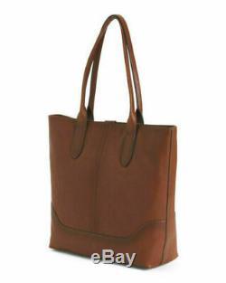 Frye Nwot Leather Ring Tote Cognac Handbag $428.00