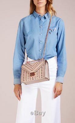 HOT SALE Michael Kors Whitney Large Studded Leather Convertible Shoulder Bag