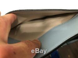 Kate Spade Margaux Large Pebbled Leather Crossbody Bag in Horizon Blue Navy $258
