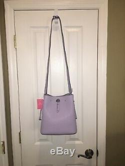 Kate Spade Marti Large Bucket Shoulder Tote Bag Lilac Frozenlila Leather $399