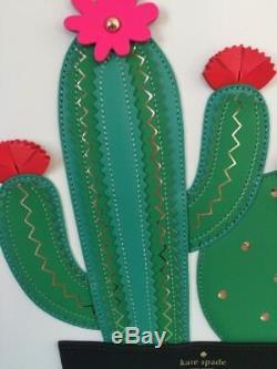 Kate Spade Nwt Horizons Cactus Little Len Island Waters Tote Purse Bag