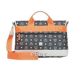 MCM Resnick Visetos Messenger Bag Nylon New