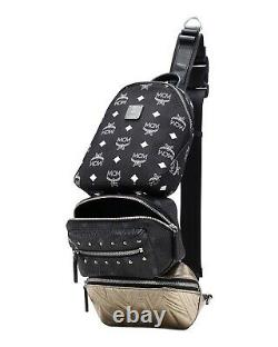 MCM Trey 4-In-1 Crossbody Sling Bag New