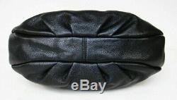 Marc Jacobs New Q Hillier Black Leather Large Hobo Shoulder Bag Pursenwt