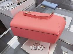 Michael Kors Jet Set Travel Large Chain Tote Shoulder Bag Grapefruit Pink
