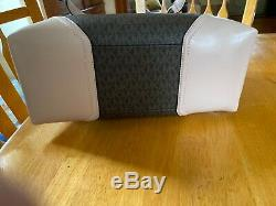 Michael Kors Nicole Large Pvc Leather Signature Shoulder Tote Handbag Bag $448