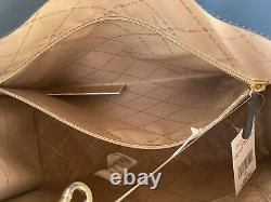 Michael Kors Women Large Shoulder bag Handbag Tote Crossbody Satchel Brown MK