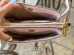 Michael Kors Women PVC Leather Crossbody Bag Handbag Messenger Shoulder Ballet