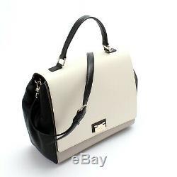 NWT $425! Kate Spade Laurel Satchel Crossbody Leather Handbag Tote Bag Purse NEW