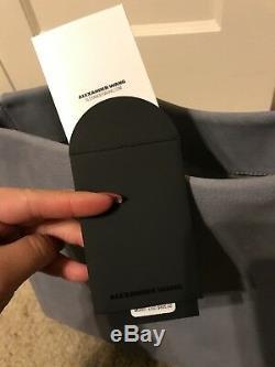 NWT Alexander Wang Darcy Studded Hobo Bag Grey Leather