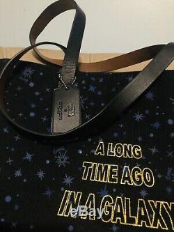 NWT COACH Disney STAR WARS X CANVAS TOTE Bag Handbag F88038 Wristlet Set F88648