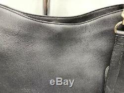 NWT Coach 36026 Nomad Black Glovetanned Leather Handbag Read Ad First
