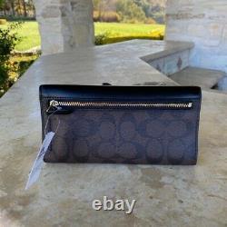 NWT Coach Mia Signature Colorblock Leather Satchel crossbody Handbag/Wallet