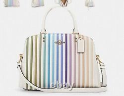NWT Coach Ombre Large Lillie Quilted Leather Satchel crossbody Handbag/Wallet