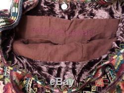 NWT Johnny Was JWLA Ravi Velvet Tote Bag OL34160320