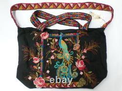 NWT Johnny Was JWLA Shula Linen Tote Bag OL43720621