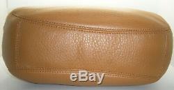 NWT MICHAEL Kors Fulton Leather Large Shoulder Bag Tote Hobo ACORN