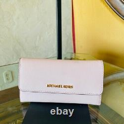 NWT Michael Kors 35TOGCFT3Y Large Charlotte Embossed Signature tote/wallet optio