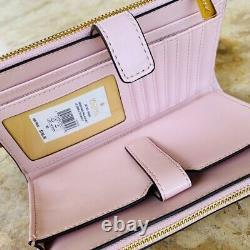 NWT Michael Kors Signature Nicole Large Shoulder handbag/Wallet powdered blush