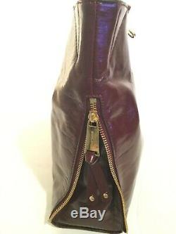 NWT New Michael Kors Handbag Devon Large Shoulder Tote Purse Oxblood Leather