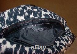 NWT STELLA McCARTNEY Leopard Canvas Tote, Shoulder, Handbag