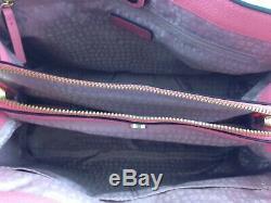 New Authentic Kate Spade Evangelie Larchmont Avenue Satchel Handbag Purse Pink