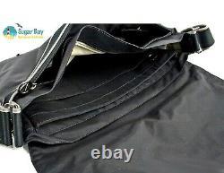 New Authentic LACOSTE Unisex MESSENGER Shoulder BAG New City Casual 7 Black