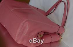 New Coach F28997 Lexy Pebble Leather Shoulder Bag handbag Peony